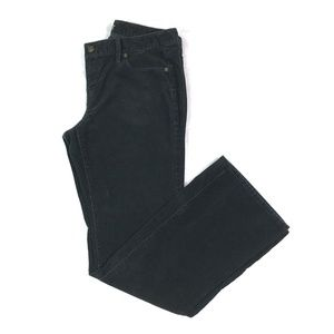 Ann Taylor LOFT Corduroy Pants Black Curvy Bootcut